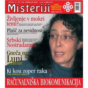 Misteriji 163 (februar 2007)