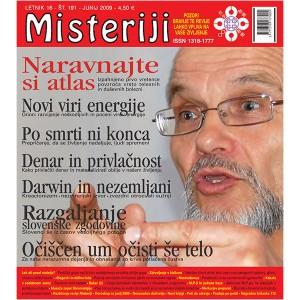 Misteriji 191 (junij 2009)