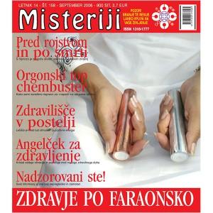 Misteriji 158 (september 2006)