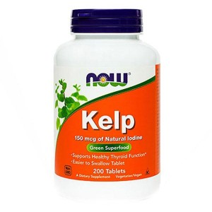 NOW Kelp Jod, 150 mcg (200 tablet)