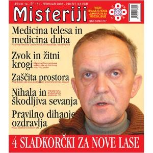 Misteriji 151 (februar 2006)
