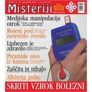 Misteriji 165 (april 2007)