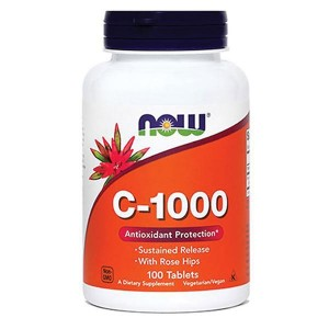 NOW Vitamin C-1000 (100 tablet)