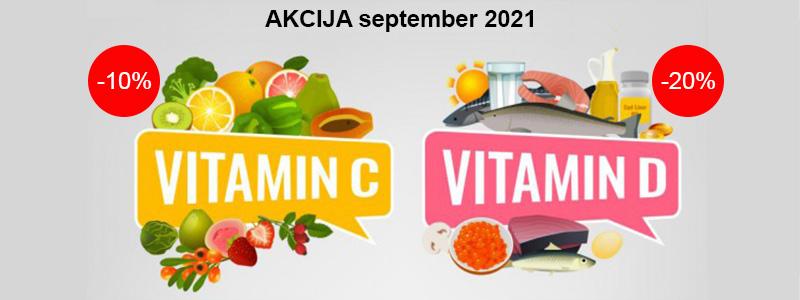 Vitamin C in vitamin D