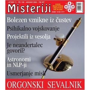 Misteriji 126 (januar 2004)