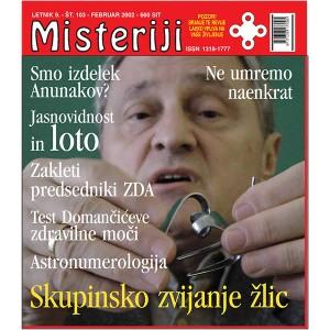 Misteriji 103 (februar 2002)