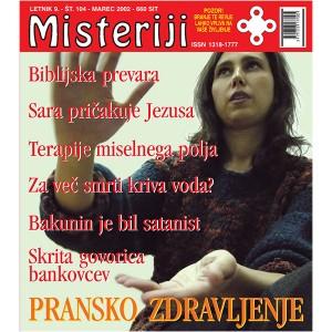 Misteriji 104 (marec 2002)
