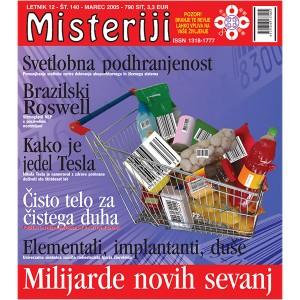 Misteriji 140 (marec 2005)