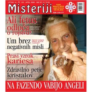 Misteriji 153 (april 2006)