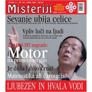 Misteriji 129 (april 2004)