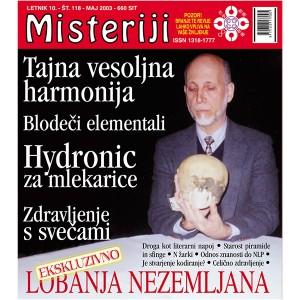 Misteriji 118 (maj 2003)