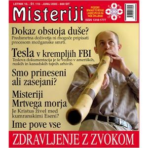 Misteriji 119 (junij 2003)