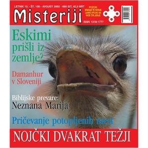 Misteriji 109 (avgust 2002)