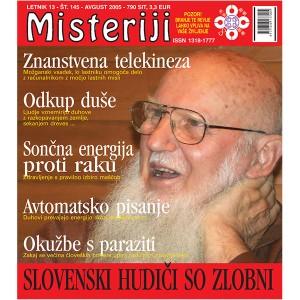 Misteriji 145 (avgust 2005)