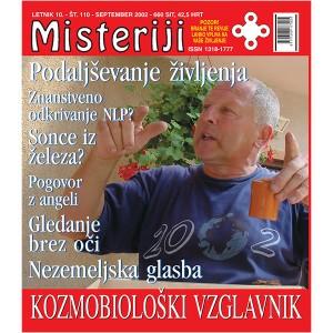 Misteriji 110 (september 2002)