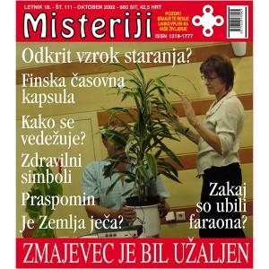 Misteriji 111 (oktober 2002)