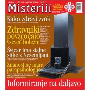 Misteriji 135 (oktober 2004)