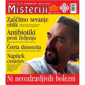 Misteriji 137 (december 2004)