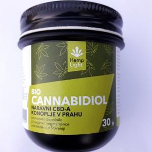 Bio Cannabidiol – naravni CBDA konoplje v prahu (30 g)