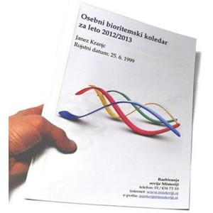Bioritemski koledar - elektronska oblika