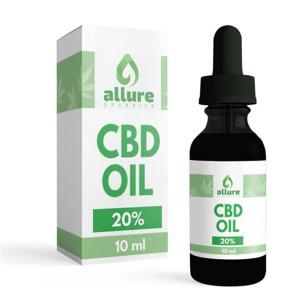 CBD Allure 20 % konopljino olje (10 ml)