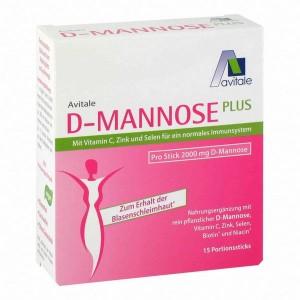 D-manoza Plus (2000 mg, z okusom maline)