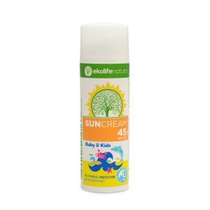Krema za zaščito pred soncem za dojenčke in otroke ZF 45 (50 ml)