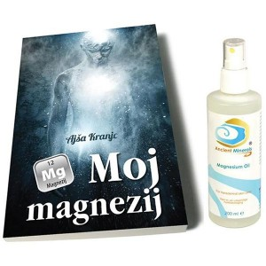 Komplet MAGNEZIJ (knjiga + magnezijevo olje)