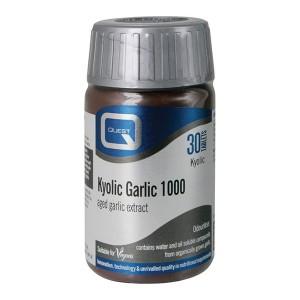 Kyolic – izvleček staranega česna (1000 mg, 30 tablet)