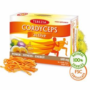 Cordyceps active – Prehransko dopolnilo za športnike (60 kapsul)