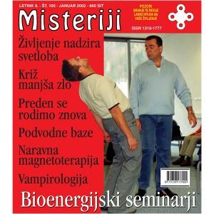 Misteriji 102 (januar 2002)
