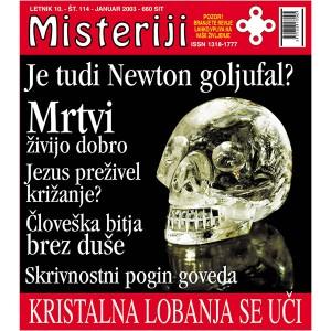 Misteriji 114 (januar 2003)