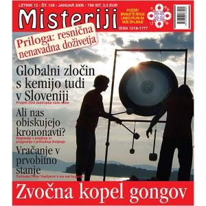 Misteriji 138 (januar 2005)