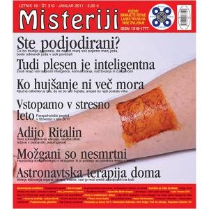 Misteriji 210 (januar 2011)
