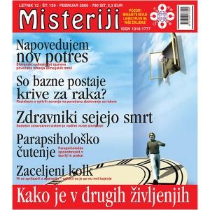 Misteriji 139 (februar 2005)