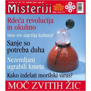 Misteriji 116 (marec 2003)