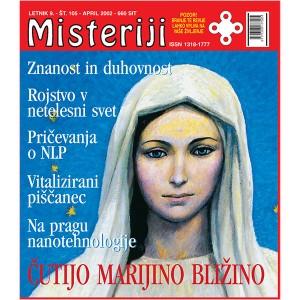Misteriji 105 (april 2002)