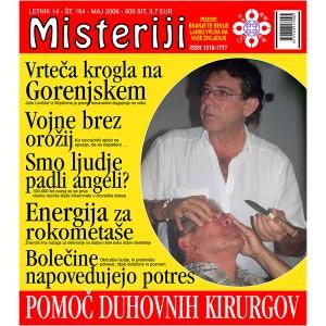 Misteriji 154 (maj 2006)