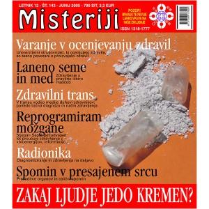 Misteriji 143 (junij 2005)