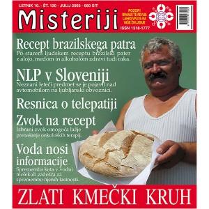 Misteriji 120 (julij 2003)