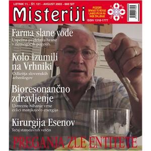 Misteriji 121 (avgust 2003)