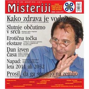 Misteriji 205 (avgust 2010)