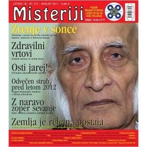 Misteriji 217 (avgust 2011)