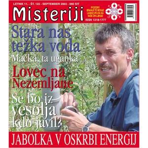 Misteriji 122 (september 2003)