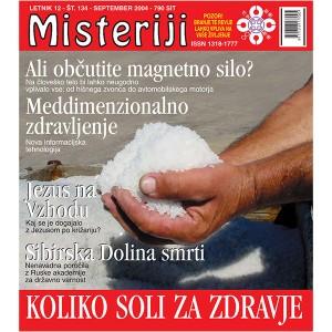 Misteriji 134 (september 2004)