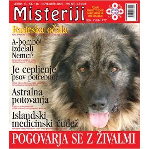 Misteriji 148 (november 2005)