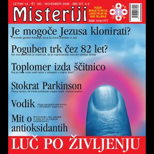 Misteriji 160 (november 2006)