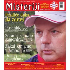 Misteriji 184 (november 2008)