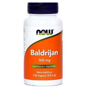 Baldrijan 500 mg (100 kapsul)