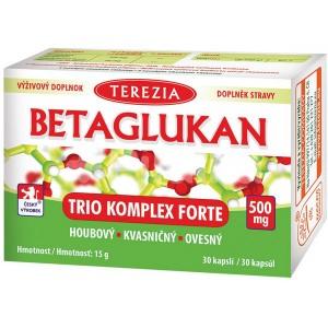 Betaglukan trio komplex forte (500 mg, 30 kapsul)